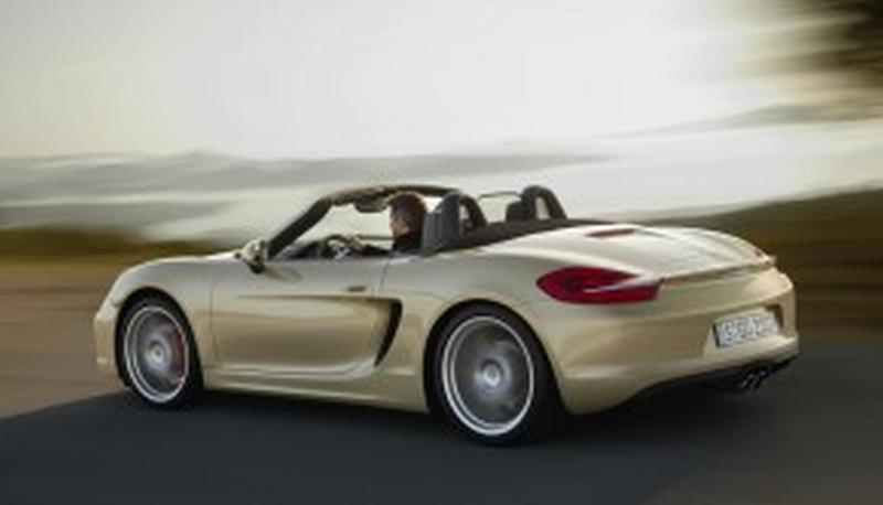 Nieuwe Porsche Boxster 2012