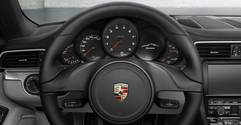Porsche 911 cabriolet rijtest vierenzestig for Interieur 911