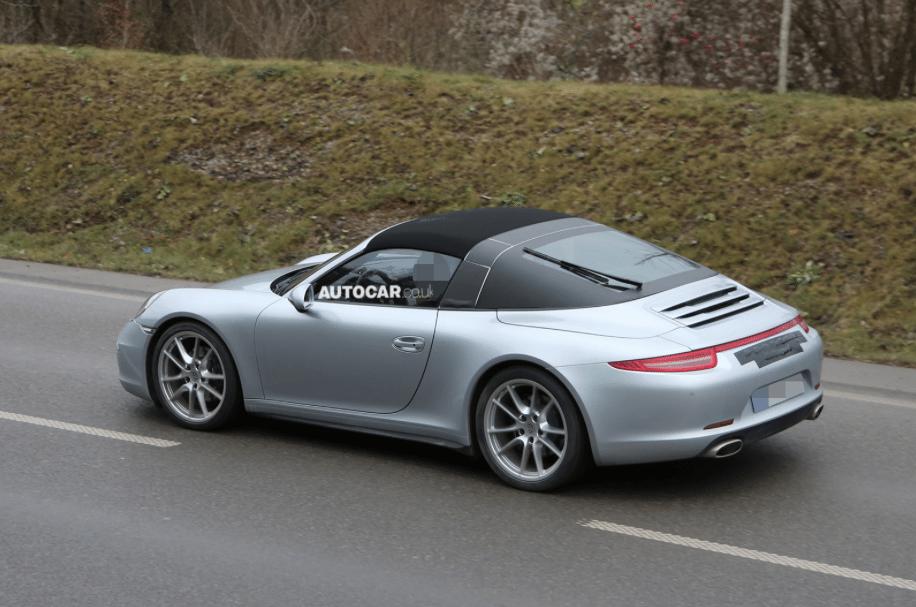 Porsche 991 Targa Roof Mechanism Automatisch dak Porsch...