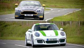 Porsche 911R Aston Vantage