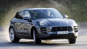 Porsche Macan overstuur