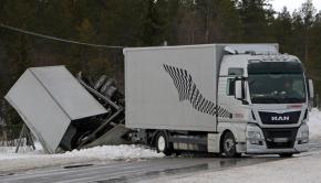 Porsche transporter crash