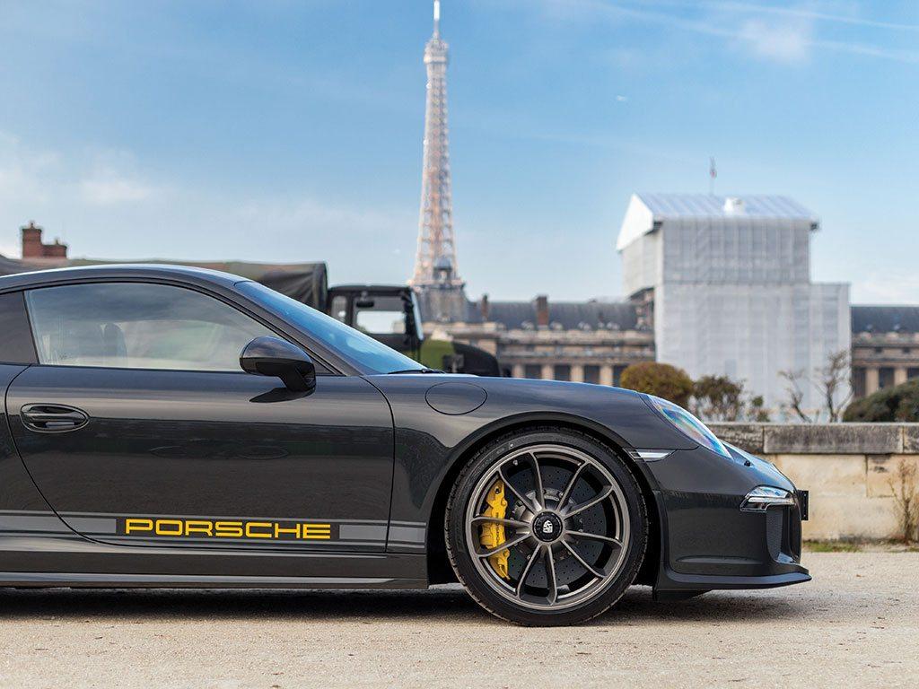 Porsche 911 R Parijs