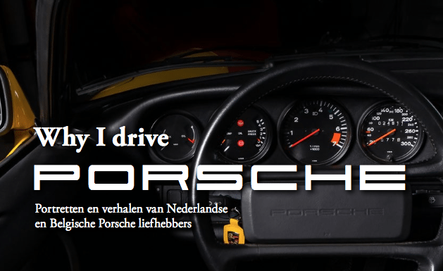 Why I drive Porsche