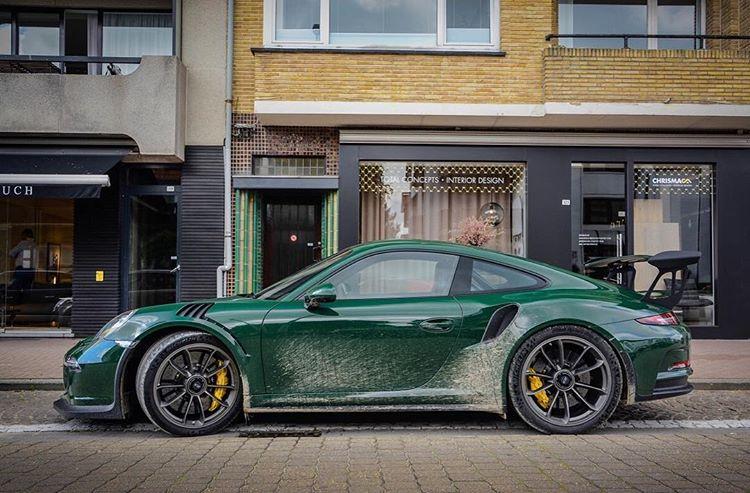 Porsche 911 GT3 RS Green