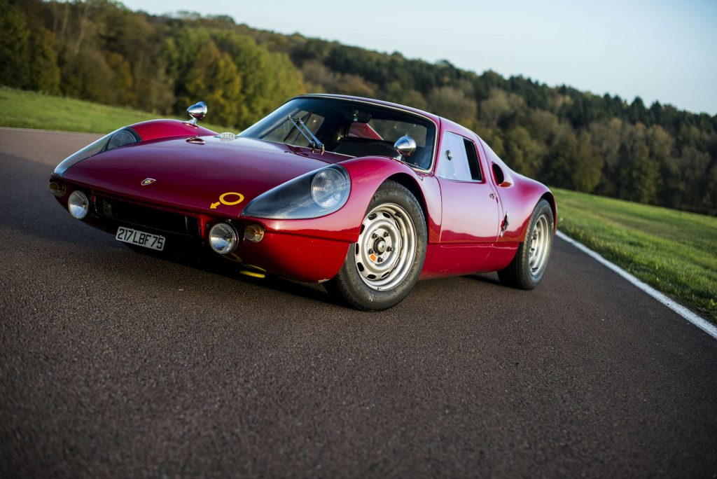zeldzame klassieke Porsches