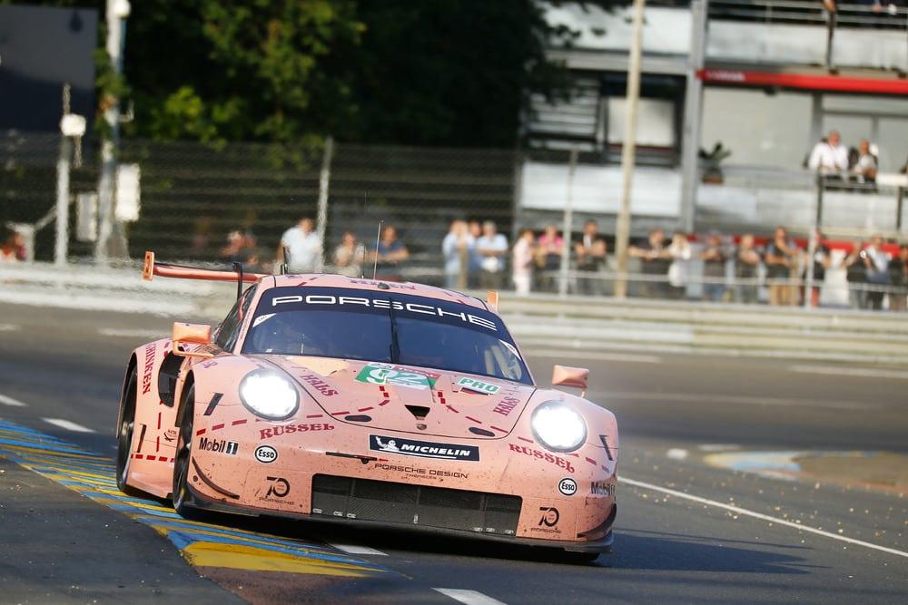 Porsche winst Le Mans